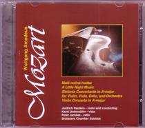 Obálka CD Mozart